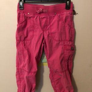 H&M Girl's Pink Drawstring Cargo Pants!